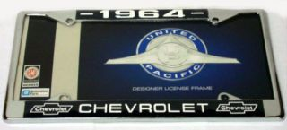 LICENSE TAG FRAME FOR 1964 CHEVY CHEVROLET IMPALA CAR TRUCK GM
