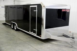 20 ENCLOSED ALUMINUM CARGO TRAILER ALUMINUM WHEELS, SCREWLESS, RAMP