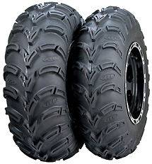 Pair of ITP Mud Lite (6ply) ATV Tires [25x8 12] (2)