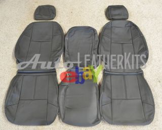 2010 2012 Chevrolet Silverado Crew Cab Leather Seat Covers KATZKIN NEW