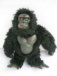 KING KONG by Playmates Figure Plush Doll Toy Used 9