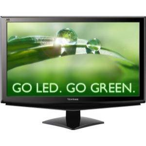 ViewSonic VA2448M 24 Widescreen LED LCD Monitor, built in Speakers