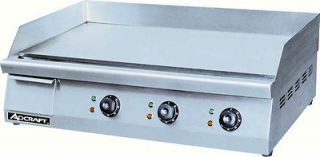Adcraft GRID 30 30 Commercial Electric Griddle 208V NSF Approved