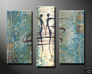3pc Hot Sell Huge WALL Modern Abstract on Canvas decorative Oil
