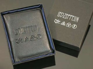 f057 Led Zeppelin Zoso Symbol Bifold Wallet Cool New NR