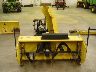 Newly listed John Deere 47 quick attach 2 stage snowblower fits 318