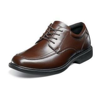 NUNN BUSH Mens Bourbon St Casual Dress Oxford Shoes Brown Leather