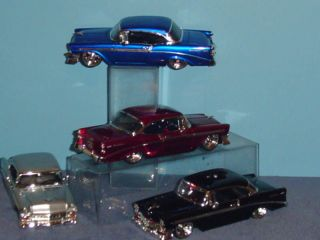 1956 CHEVY BEL AIR DUB CITY CUSTOM 124 SET OF FOUR