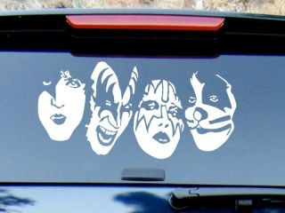 Kiss Band Vinyl Decal Sticker / Color HIGH QUALITY