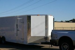 5x18 Enclosed Cargo Motorcycle ATV Race Car Show Auto Car Hauler