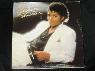 Michael Jackson Record Thriller Billie Jean Vinyl 1982 Original Epic