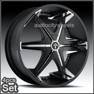 26 inch Dub Wheels for Land Range Rover, FX35 Rims