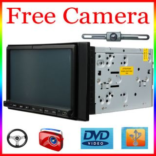 Din In Dash Car Radio Stereo DVD Player MP4 USB SD FM/AM Radio