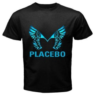 New PLACEBO Brian Molko Alternative Rock Band Mens Black T Shirt Size