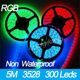 Newly listed New Quality RGB 3528 SMD LED Flexible Strip Tape lights
