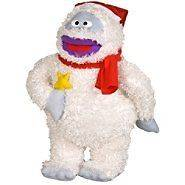 BUMBLE ABOMINABLE SNOWMAN & STAR CHRISTMAS HOLIDAY PILLOW FRIEND