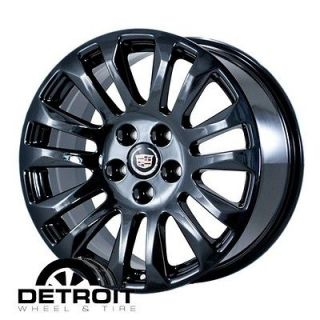 CADILLAC CTS,STS 2010 2012 PVD Black Chrome Wheels Rims Factory