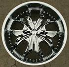 STRADA RAZZA 22 CHROME RIMS WHEELS CADILLAC CTS STS DT