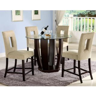West Palm II 5 Piece Counter Height Table Set