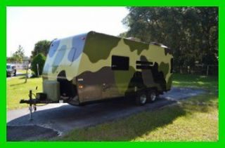 2005 Forest River FLAGSTAFF Camouflage Hunting Trailer RV Camper No