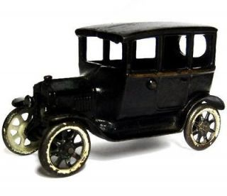 Antique Vintage 1923 Arcade Center Door Cast Iron Ford Model T Tudor