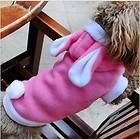 Pet/Dog/Cat Cute Rabbit Warm Pet Dog Clothes Coat Apparel S M L XL