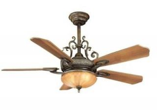 Bay Chateau Deville 52 Ceiling Fan with Light Kit & Remote Control