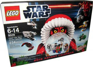 2012 LEGO STAR WARS #9509 ADVENT CALENDAR DARTH MAUL & R2 D2 MISB NEW