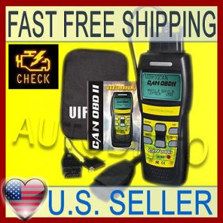 OBD2 TROUBLE CODE READER OBD II AUTO SCANNER Check Engine Light RESET