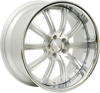 22 CONCEPT ONE RS 10 WHEELS RIMS STAGGERED 5X120 BMW 6 7 645 650 745