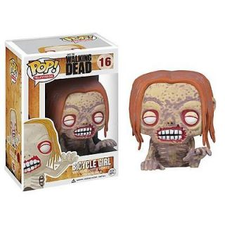 The Walking Dead Bicycle Girl Zombie Pop Vinyl Figure AMC