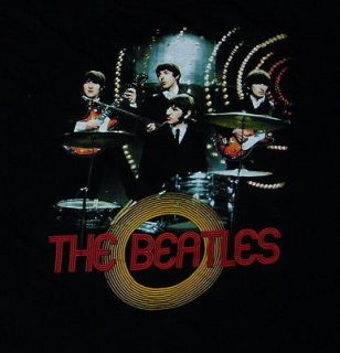 Beatles Live Band T Shirt (L/M) Medium U2 john lennon u2 monkees led