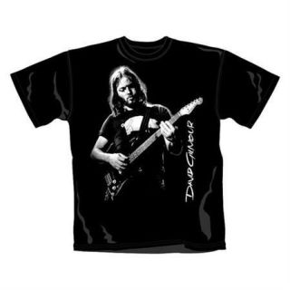 Pink Floyd / David Gilmour Young Dave Mens T Shirt   New & Official