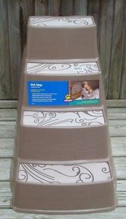 New Top Paw Pet Step 23L x 16W x 19H Dog Animal Stairs