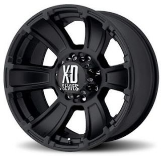 Series XD796 REVOLVER Black 17X9.0 Offroad Truck Wheels & Nitto TIRES