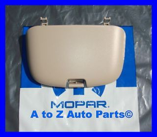 NEW 1999 2001 Dodge Ram TAN Overhead Console SUNGLASS Door, OEM Mopar