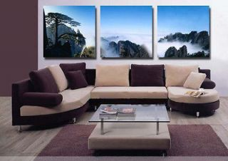 3pc MODERN ABSTRACT HUGE WALL ART OIL PAINTING ON CANVAS no frame