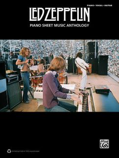 LED ZEPPELIN PIANO SHEET MUSIC ANTHOLOGY   PIANO/VOCAL/GUITAR SONGBOOK