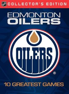 NHL Edmonton Oilers Greatest Games DVD, 2008, 10 Disc Set