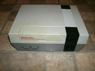 NINTENDO NES 001 ENTERTAINMENT VIDEO GAME SYSTEM CONSOLE ONLY
