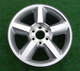 20 New Chrome Wheel Rim 2009 2010 2011 Chevy Avalanche Tahoe Suburban