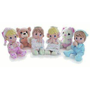 Precious Moments SPANISH Talking Prayer Plush Dolls NWT   says a