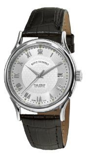 Revue Thommen Mens 20002.2532 Wallstreet Mens Black Leather Strap