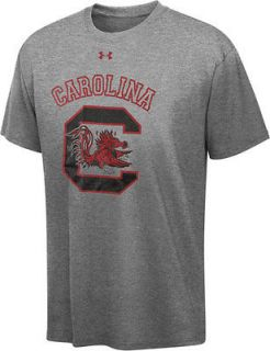 South Carolina Gamecocks Under Armour Charged Cotton T Shirt