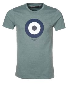 Ben Sherman T Shirt print   pebble green marl   Zalando.de