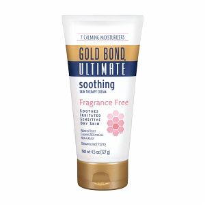 Gold Bond Ultimate Soothing Skin Therapy Cream, Fragrance Free 4.5 oz