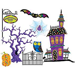 Creative Teaching Press Poppin Patterns Spooktacular Bulletin Board