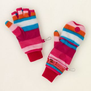 girl   flip top fleece gloves  Childrens Clothing  Kids Clothes