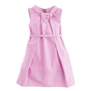 Girls retro bow dress   party   Girls dresses   J.Crew