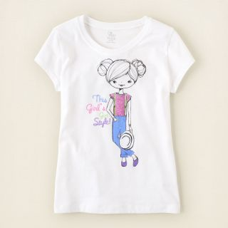 girl   got style graphic tee  Childrens Clothing  Kids Clothes